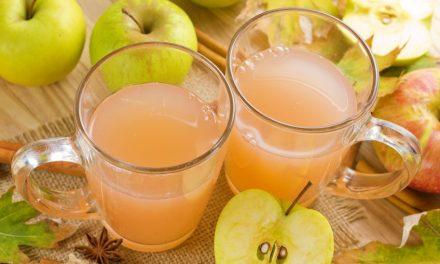 Naturtrüber Apfelsaft für die Darmgesundheit